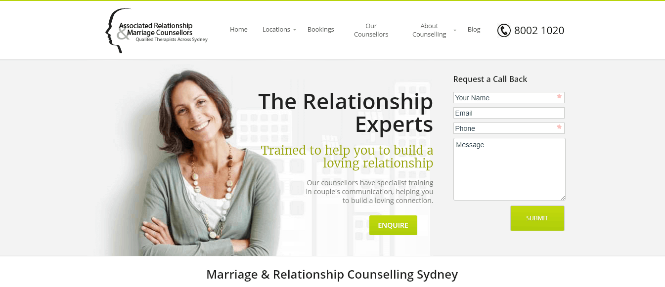 Associated Relations & Marriage Counsellors