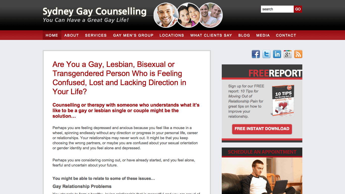 Sydney Gay Counselling
