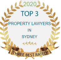 2020 Top 3 Property Lawyers in Sydney - Three Best Rated