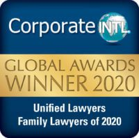 Corporate INTL Global Awards 2020 - Family Lawyers of 2020
