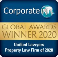 Corporate INTL Global Awards 2020 - Property Law Firm of 2020