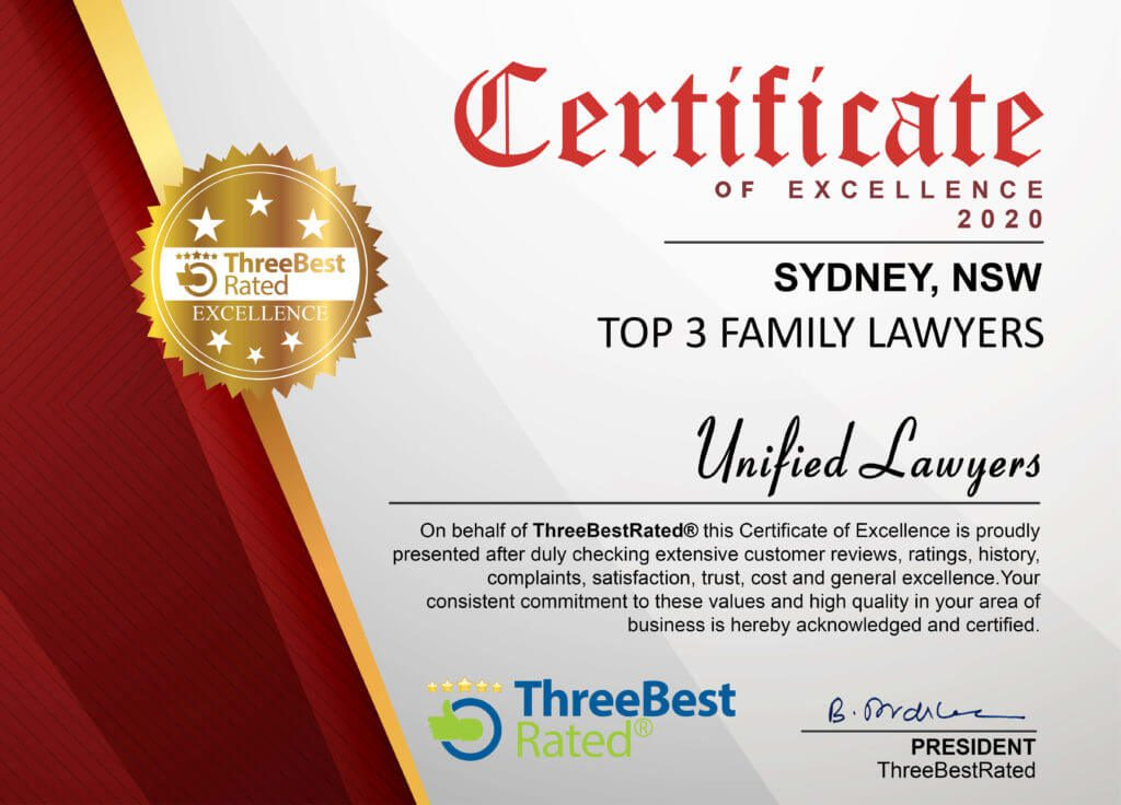 Top Family Lawyers Sydney